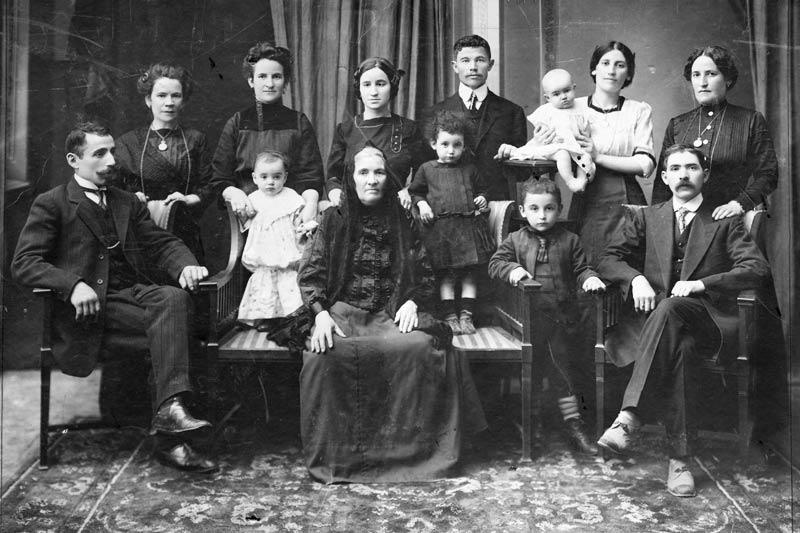 """Familieportret """"klassieke wijze"""""""